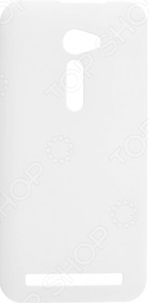 Чехол защитный skinBOX ASUS ZenFone 2 ZE500CL защитная пленка onext для asus zenfone 2 ze500cl 40944