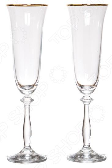 Набор бокалов Bohemia Crystal «Анжела» спальня анжела