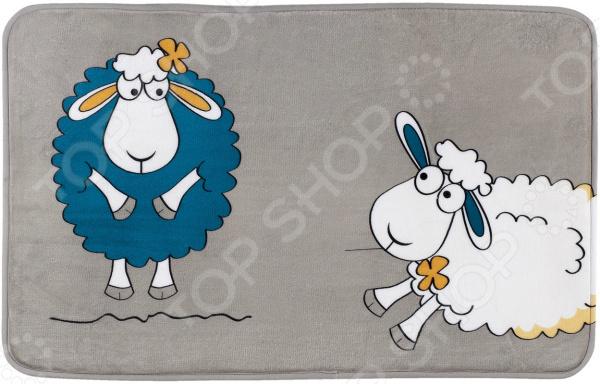 Коврик для ванной Tatkraft Funny Sheep держатель для туалетной бумаги tatkraft mega lock