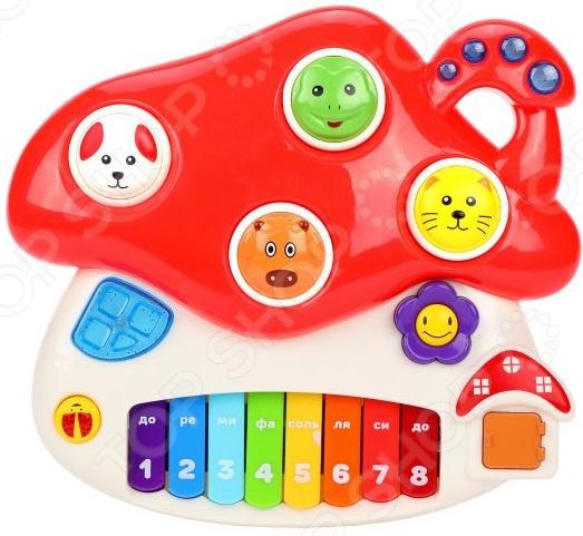 Музыкальная игрушка Жирафики «Грибок» музыкальная игрушка жирафики грибок со светом