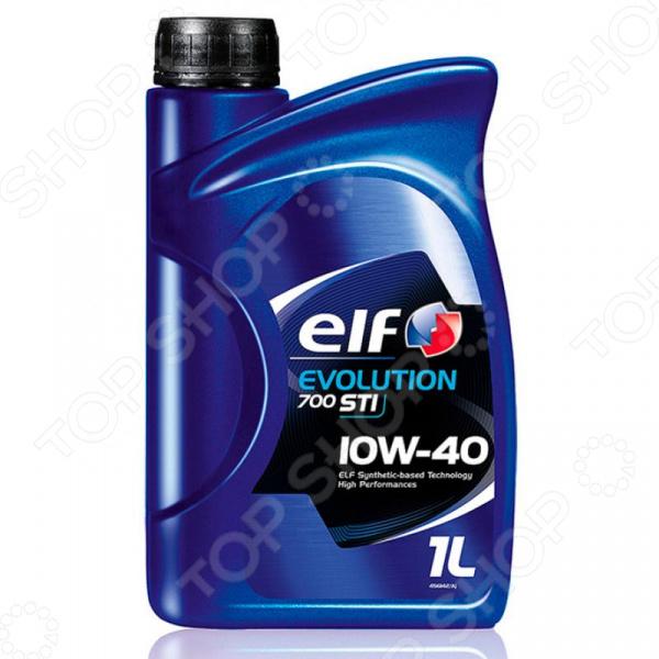 Масло моторное полусинтетическое Elf ELF-10W40PS-1L