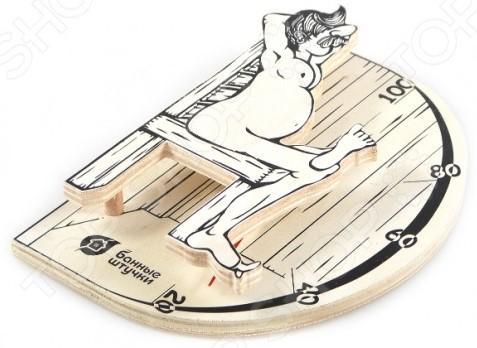 Термометр для бани и сауны Банные штучки «В здоровом теле-здоровый дух» 2