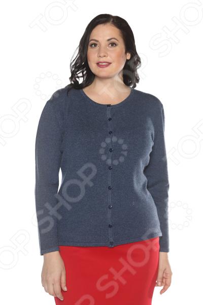 Кардиган Milana Style «Сладкий цвет» кардиган женский milana style цвет темно бежевый 34359 размер 60