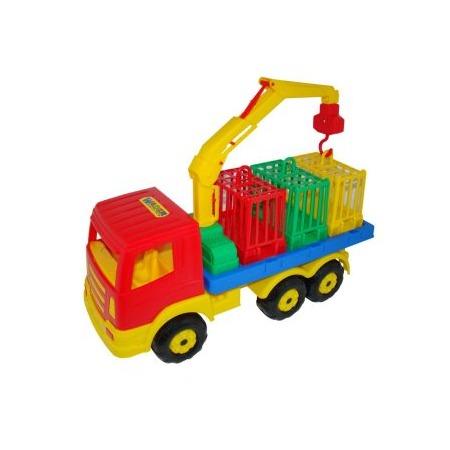 Купить Машинка игрушечная POLESIE для перевозки зверей 09586