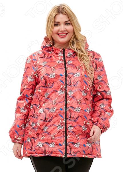 Куртка двухсторонняя СВМ-ПРИНТ «Белиссима». Цвет: малиновый
