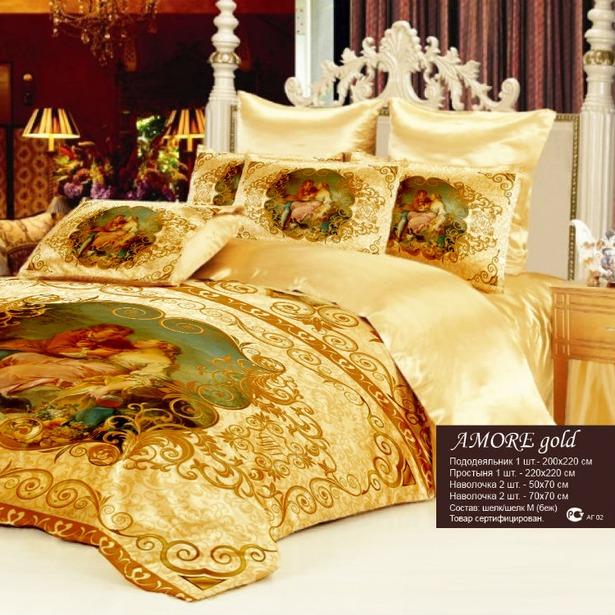 фото Комплект постельного белья «Аморе»