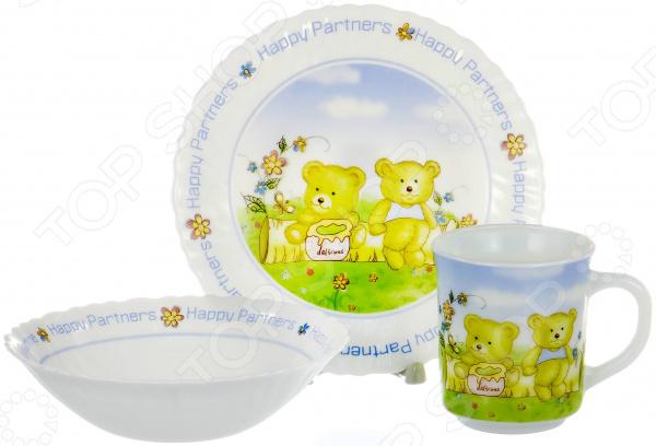 Набор столовой посуды OlAff CB-3BS-CH-1065