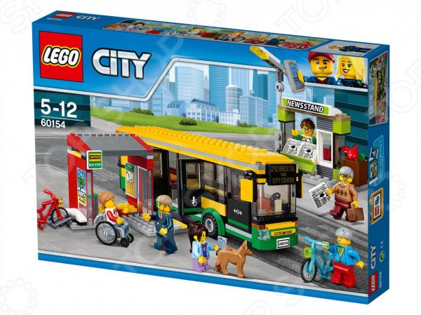 Конструктор игровой LEGO City «Автобусная остановка» lego education 9689 простые механизмы