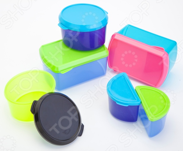 Набор контейнеров с охлаждающим элементом «Умный обед»