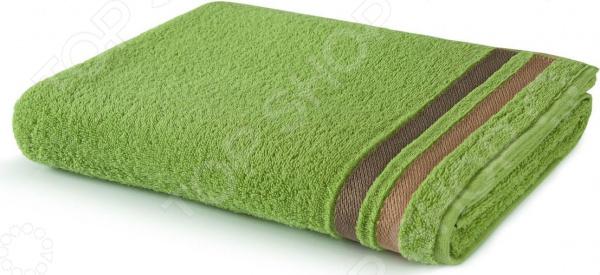 Полотенце махровое Aquarelle «Исландия». Цвет: травяной полотенце махр aquarelle исландия 40х70см ваниль