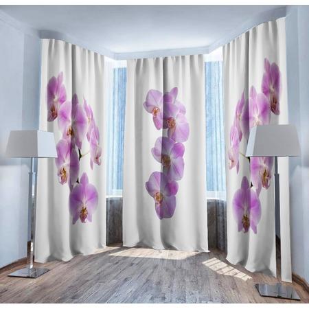 Купить Фотошторы ТамиТекс «Нежность орхидеи»