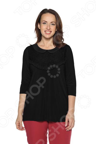 Блуза Pretty Woman «Волшебный взгляд». Цвет: черный блуза incity цвет черный белый