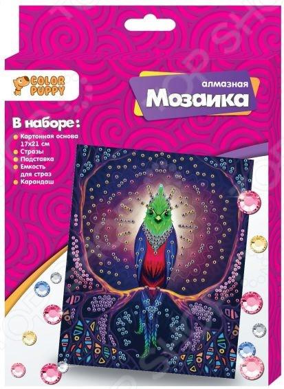 Набор для создания мозаики Color Puppy «Птица»