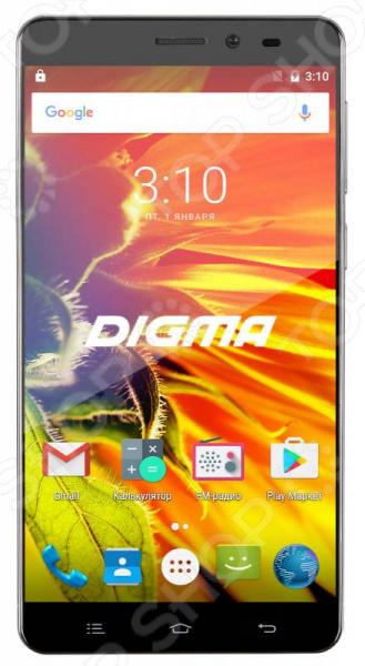 Смартфон Digma Vox S505 3G 8Gb сотовый телефон digma vox s505 3g white
