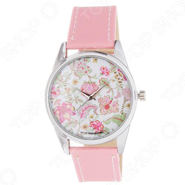 Часы наручные Mitya Veselkov «Розовые лотосы» Color