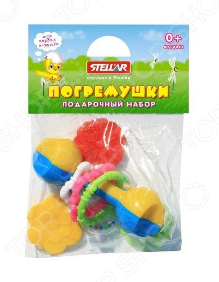 Набор игрушек-погремушек Стеллар «Подарочный набор №5» сортеры стеллар куб подарочный