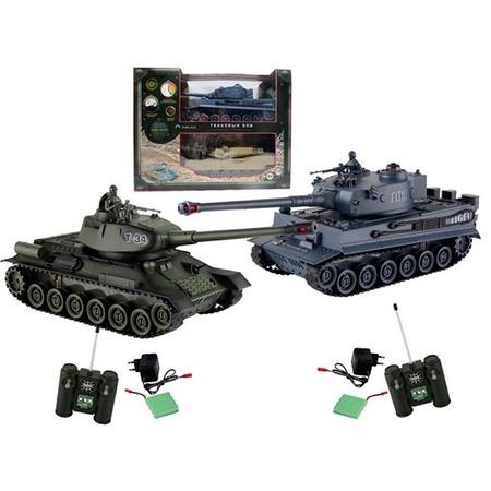 Купить Набор на радиоуправлении Yako «Танковый бой. Т34 против Тигра» 6121