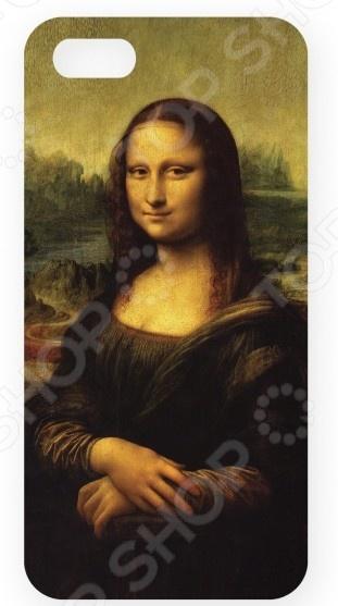 Чехол для IPhone 5 Mitya Veselkov «Мона Лиза» чехол для iphone 5 mitya veselkov жизнь прекрасна