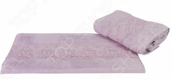 Полотенце махровое Hobby Home Collection Sidelya. Цвет: лиловый