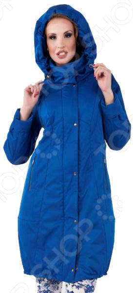 Пальто D`imma «Делора». Цвет: синий