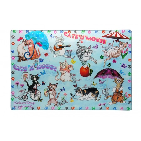 Купить Доска разделочная Gift'n'home «Кошки-мышки»