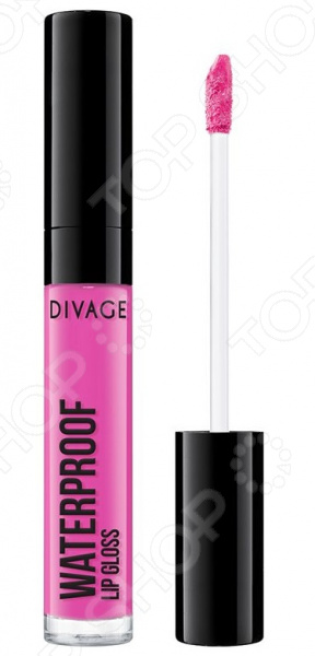 Блеск для губ водостойкий DIVAGE Waterproof Lip Gloss блеск для губ divage waterproof lip gloss 04 цвет 04 variant hex name e14da5