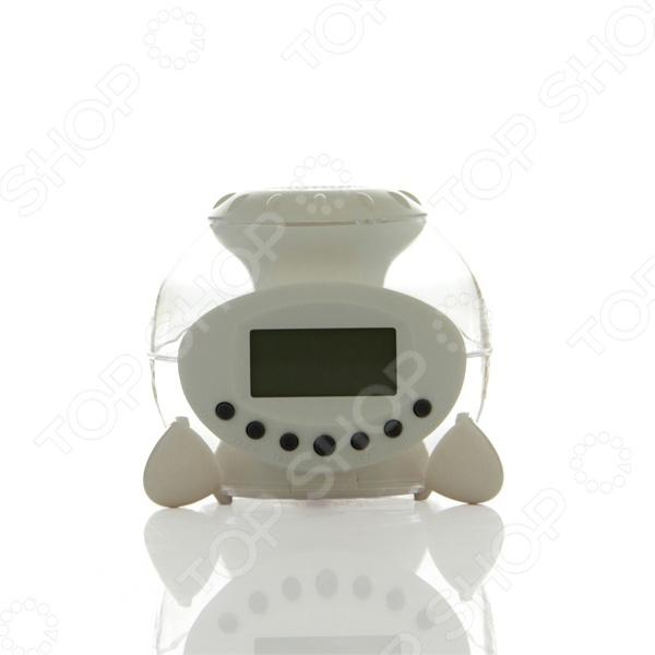 Будильник со звуками природы и ночником 31ВЕК UI-809 это отличное средство от утреннего стресса после пробуждения. Это отличная альтернатива простому будильнику, ведь данную модель можно использовать как ночник. В памяти будильника есть шесть звуковых шаблонов, среди которых шум прибоя, чириканье птиц, журчание воды. В будильнике так же есть календарь и термометр. Работает от 3 батареек типа ААА в комплект не входят .