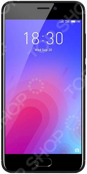 Смартфон Meizu M6 16GB обеспечит стабильную связь и удобный доступ в интернет. Никакого торможения и зависания при просмотре видео, быстрый отклик в онлайн-играх, комфортное общение, прослушивание музыки, чтение и реализация других необходимых задач.  Эта модель обладает множеством преимуществ: прочность материалов, эргономичный дизайн, высокое качество изготовления, оптимальный баланс производительности и времени работы от аккумулятора. Это устройство станет отличным решением для современных людей.  Оцените преимущества модели  Прочный корпус из поликарбоната отличается эргономичным дизайном. Смартфон удобно лежит в руке и легко помещается в кармане.  Контрастность 1000:1, количество точек на дюйм PPI 282, яркость 450 кд м2.  Делайте красочные снимки, используя основную камеру 13 Мп и камеру для селфи 8 Мп . Пользователю доступен режим серийной и панорамной съемки.  Двухтоновая вспышка и быстрый фазовый автофокус для создания качественных, четких фото.  Технология ArcSoft для автоматической ретуши фото.  Внутренняя память 16 Гб; если объем собранной информации превышает объем встроенной памяти, воспользуйтесь дополнительной картой microSD до 128 Гб для нее предусмотрен слот .  Поддержка сетей LTE 4G для быстрой загрузки данных и воспроизведения потоковой музыки видео.  Встроенные датчики: силы тяжести, инфракрасный, гироскоп, освещения, касания, цифровой компас.  Воспроизведение видео MP4, 3GP, MOV, MKV, AVI ,FLV, MPEG; аудио FLAC, APE, AAC, MKA, OGG, MIDI, M4A, AMR; чтение изображений JPEG, PNG, GIF, BMP.  Тип разъема для зарядки micro-USB.