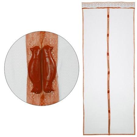 Купить Сетка антимоскитная Рыжий кот «Капутомоскито. Птички» с утяжелителями на магнитах