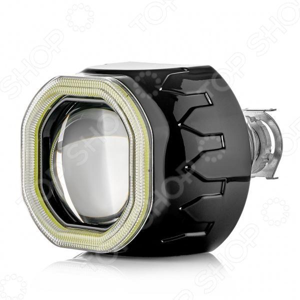Биксеноновый модуль-линза ClearLight квадратный с LED подсветкой