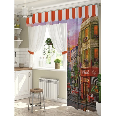 Купить Комплект штор для окна с балконом ТамиТекс «Авеню»
