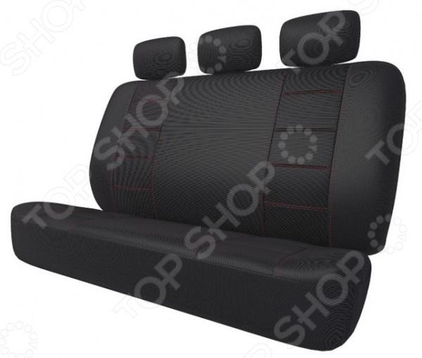 Набор чехлов для задних сидений Airline Mitsubishi Outlander (11-), «Лима» ACCS-L-61