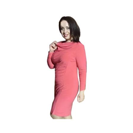 Купить Платье Климини Синди. Цвет: коралловый