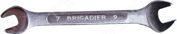 Ключ рожковый Brigadier с удлиненными головками набор инструмента пневмогайковерт с ударными удлиненными головками force f 6111d