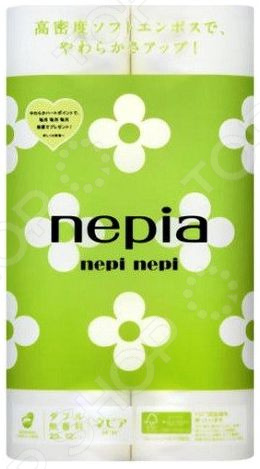 Туалетная бумага Nepia Nepi nepi 267616 бумага туалетная эврика анекдоты часть 9