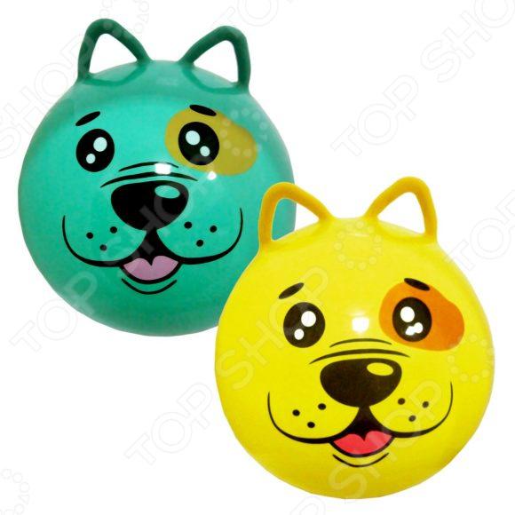 Мяч-попрыгун Moby Kids с ушками «Щенок». В ассортименте мяч попрыгун moby kids котенок пластик от 3 лет цвет в ассортименте 635588