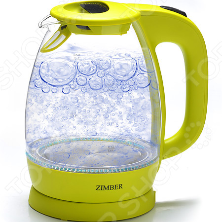 Чайник Zimber  Крышка чайника открывается автоматически при нажатии на кнопку...