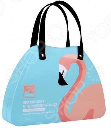 Маска антиоксидантная для увлажнения лица с любым типом кожи Beauty Style Lovely Care «Фламинго»