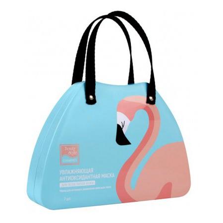 Купить Маска антиоксидантная для увлажнения лица с любым типом кожи Beauty Style Lovely Care «Фламинго»