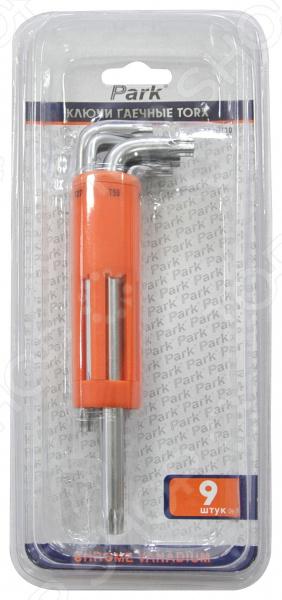 Набор ключей Park KLSH10 набор г образных ключей торкс t10 t50 9шт jtc 5354