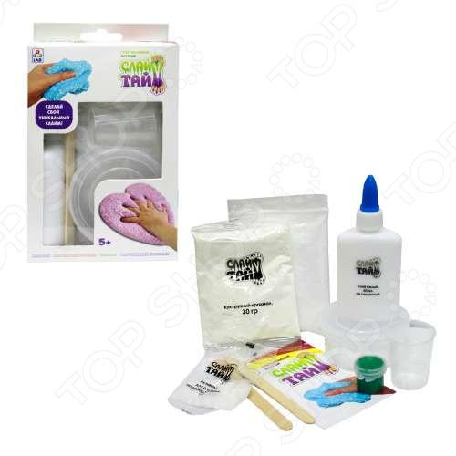 Набор для изготовления слайма 1 Toy LAB «Сделай слайм: Супертактильный матовый» набор для изготовления слайма 1toy сделай слайм многоцветный т12028