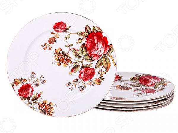 Набор тарелок подстановочных Lefard «Розы»