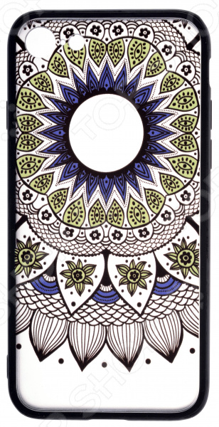 Накладка защитная для iPhone skinBOX Apple iPhone 7 чехлы для телефонов skinbox чехол skinbox lux apple iphone 7 plus