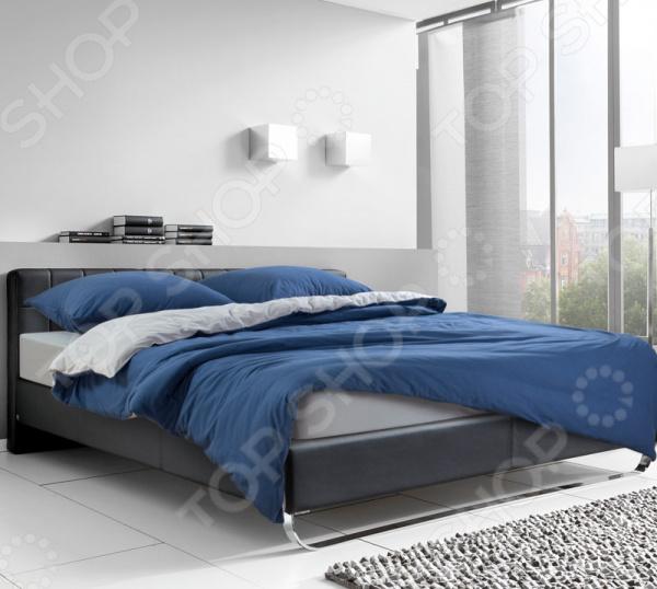 Комплект постельного белья ТексДизайн «Северное море» комплект постельного белья altinbasak 1 5 сп ранфорс athletik голубой 298 42 char001