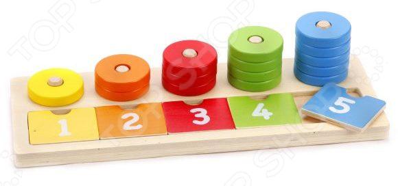 Игра развивающая Mapacha «Учимся считать» набор учимся считать дерево 66443