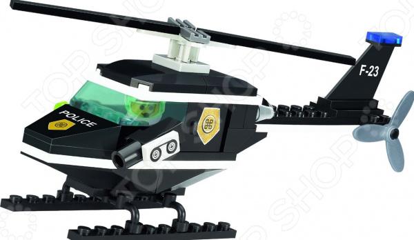 Конструктор игровой Brick «Полицейский вертолет» 1717088 конструктор brick вертолет 818
