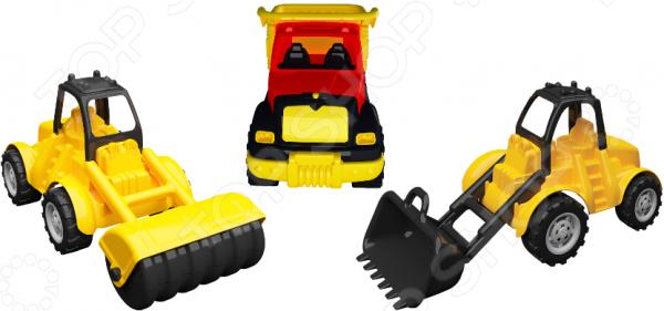Игровой набор машин «Дорожно-строительная техника»