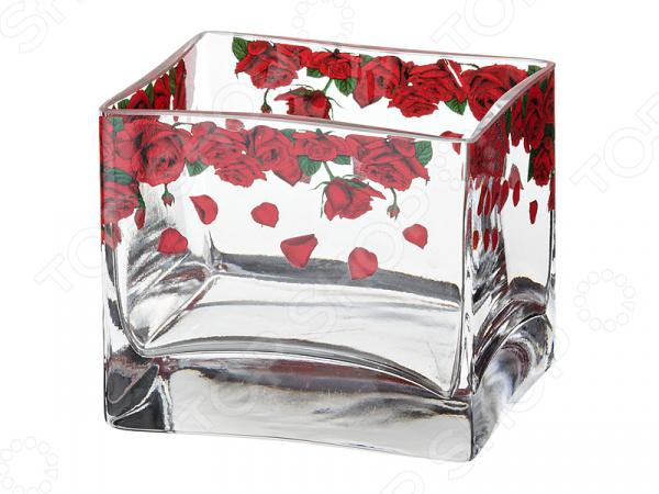 Ваза декоративная «Розарий» 484-240 комнатные цветы в горшках купить в воронеже