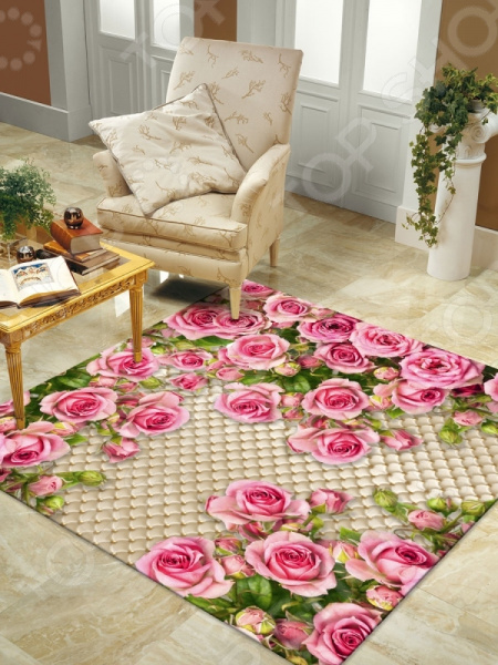 Ковер ТамиТекс «Розовый сад» ковер тамитекс малыш розовый