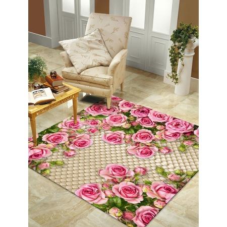 Купить Ковер ТамиТекс «Розовый сад»